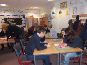 En clase de inglés