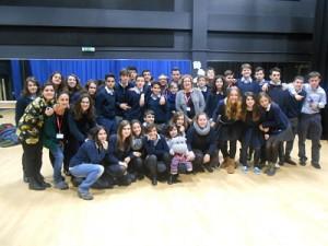 Foto de grupo cos membros do concello e de Newlink_opt