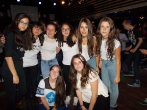 Foto de chicas: Eva, Elena M, Paula, Iria, Isa, Andrea, Pili y Natalia