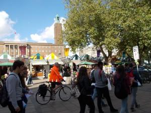 Puestos del mercado de Norwich