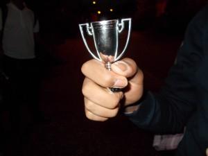 La copa del ganador