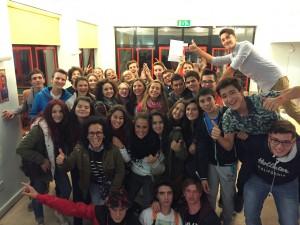 En el YMCA con el grupo de italianos III