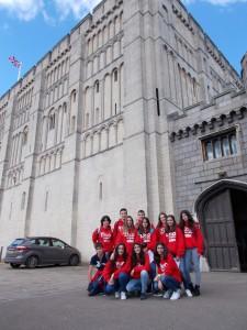 Los chic@s en el castillo de Norwich