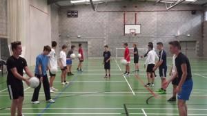 Mejorando nuestra técnica de Fútbol Gaélico