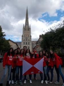 Vigo en la catedral de Norwich