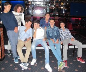 algunos de los chicos
