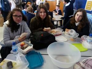Lunch en el instituto