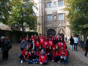 Trinity College en Cambridge