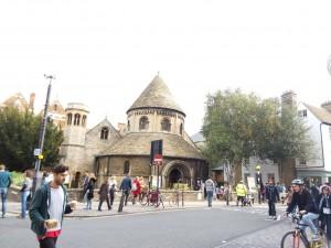 Round Church en Cambridge