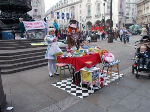 Tea party con Alicia y el Sombrerero Loco