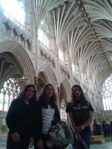 En la Catedral de Exeter (7)