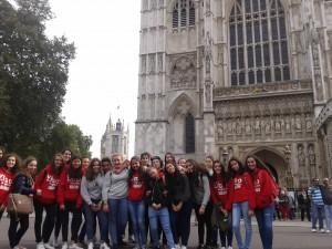 en la abadia de Westminster