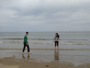 Vaya, vaya, ¡aquí sí hay playa!