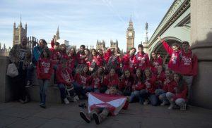 La casa del parlamento y el Big Ben