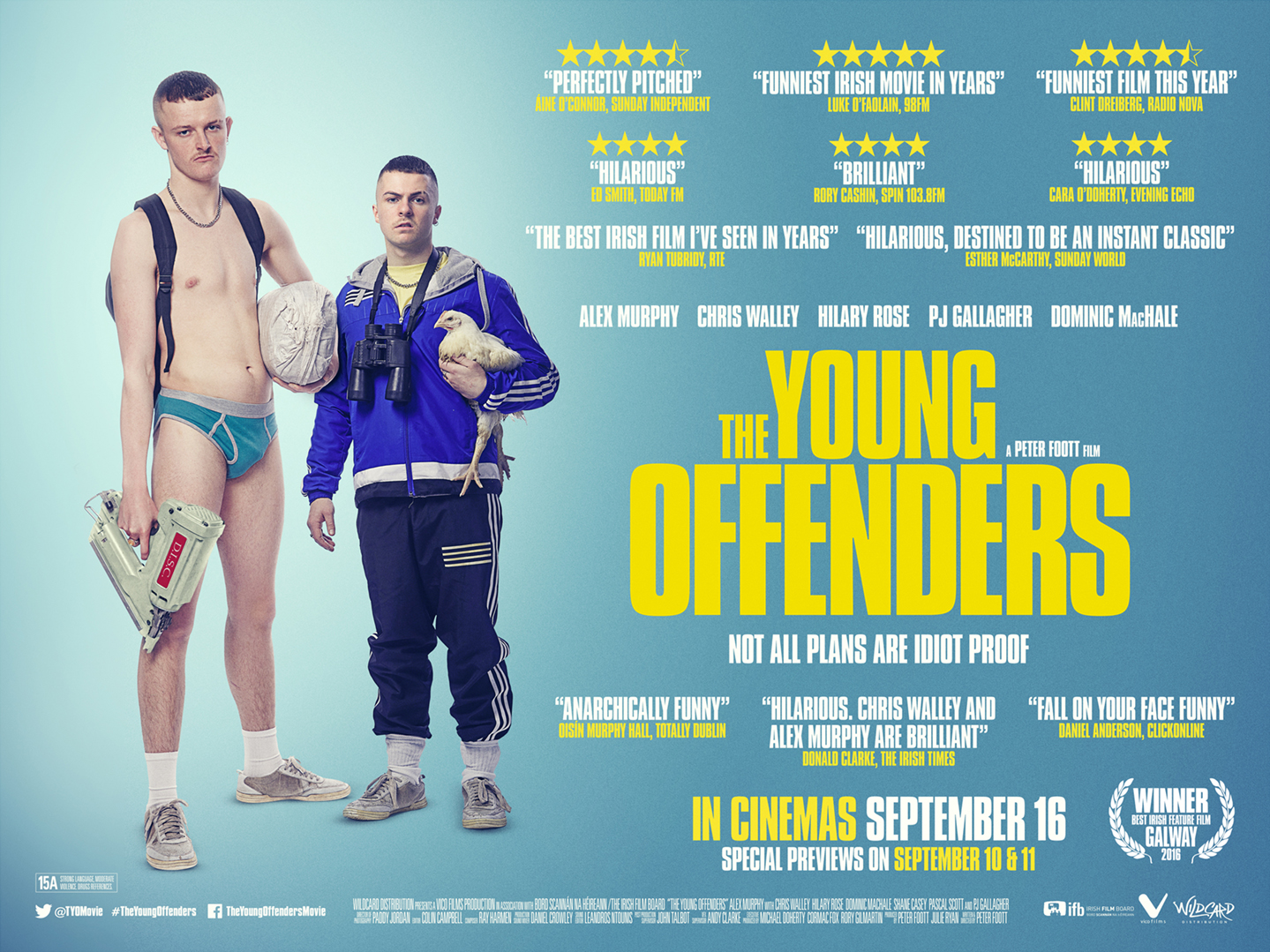 The Young Offenders - WINNER BEST IRISH FEATURE FILM GALWAY 2016