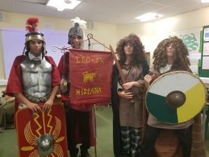 Romans vs. Saxons
