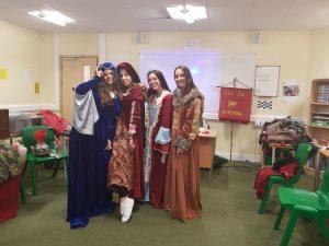 Damas medievales