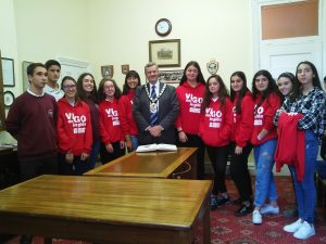 5. Visiting the mayor