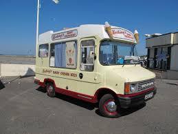 Furgoneta de helado en la que tuvieron que preguntar algo del concurso... !y quiz'a tomarse un rico heladito!